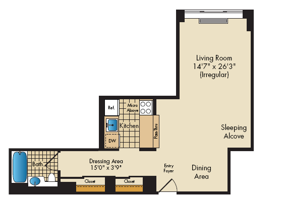 floor plan image of08B