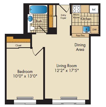floor plan image of16G