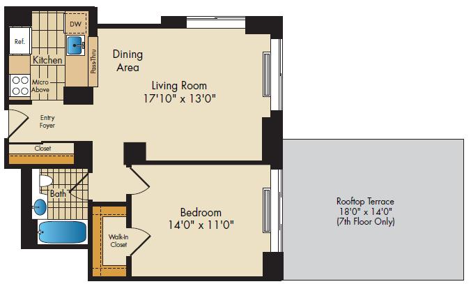 floor plan image of15N