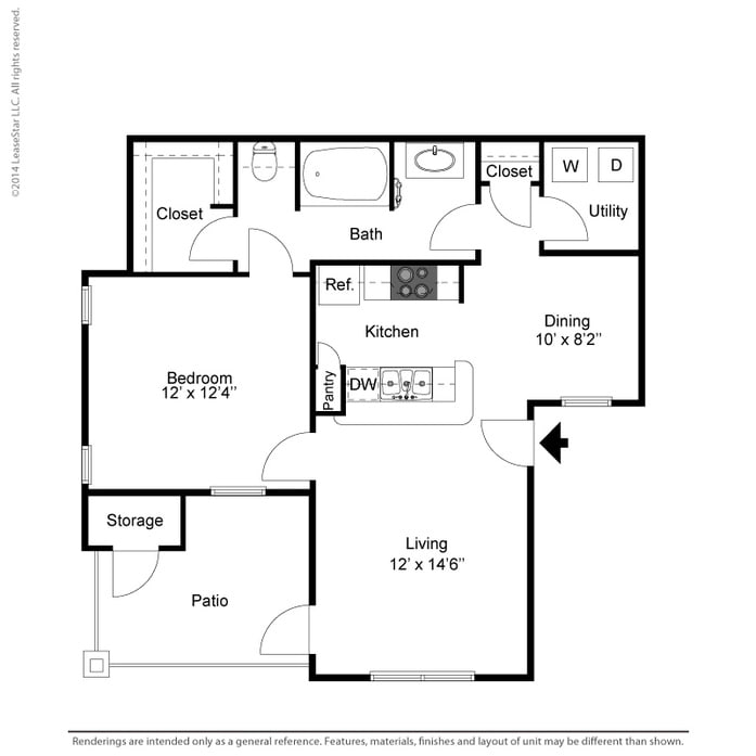 Bay Hill Apartments: Coppell, TX Oaks Riverchase Apartments Floor Plans