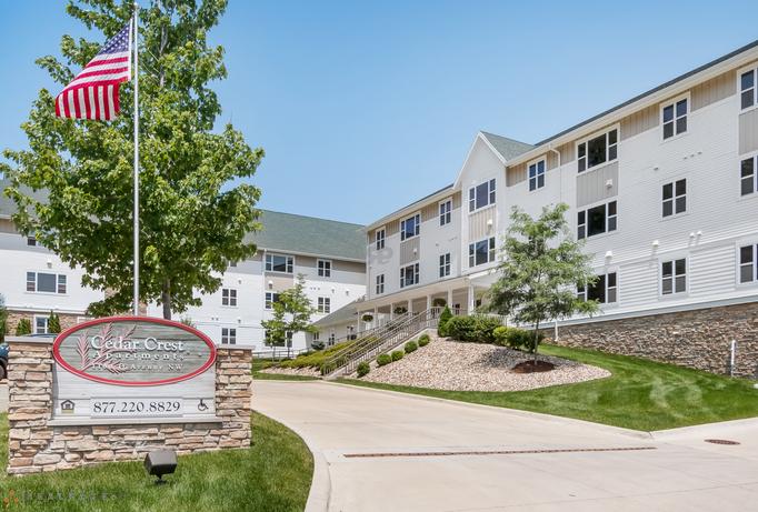 Cedar Crest Affordable Apartments In Cedar Rapids Iowa