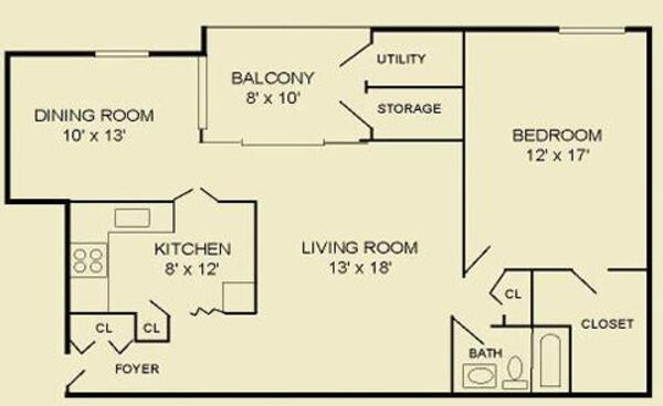 One Bedroom 1D