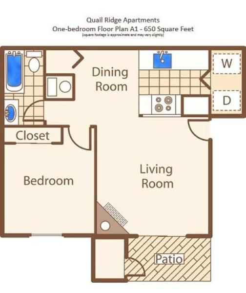A - One Bedroom