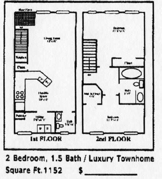 TWO BEDROOM TOWN-SM