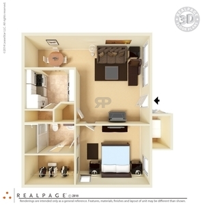 Floor Plans At San Marin Apartments In El Paso - 2 bedroom apartments el paso tx