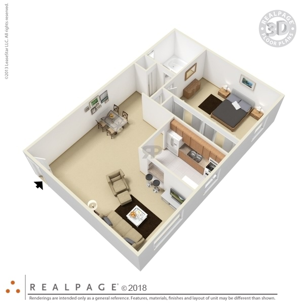 One Bedroom Lower Level