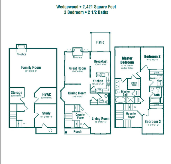 The Wedgewood (Townhome)