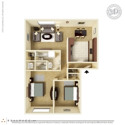 Lafayette, LA Pinhook South Floor Plans | Apartments in Lafayette ...