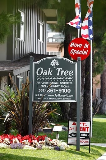Oak Tree Apartment Homes Downey Ca Apartments For Rent