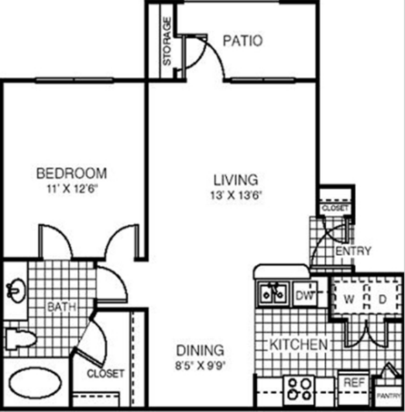 One Bedroom-689