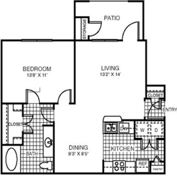 One Bedroom-750