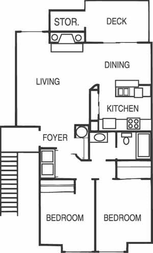 2BR Apartment for Rent on Nd St Sw, Lakewood