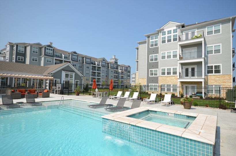 nice apartment complex. Modern Luxury Apartments in Kansas City  KS for Rent Village West