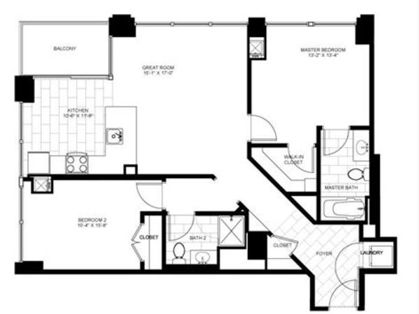 Two Bedroom 09