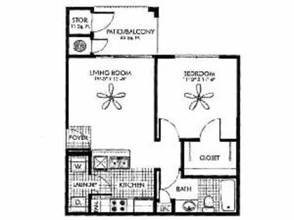 Aspire - 1 Bedroom, 1 Bath