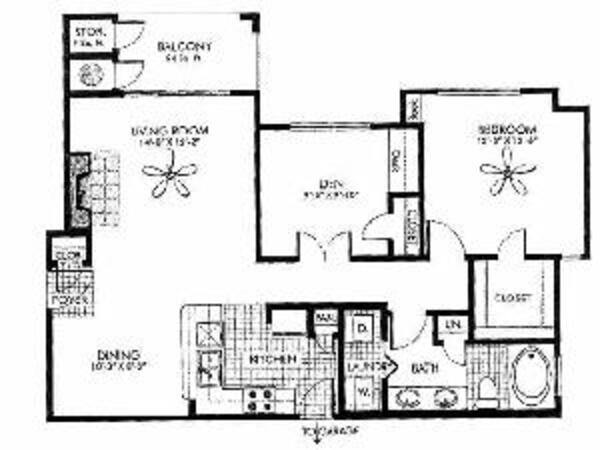 Splendor - 1 Bedroom, 1 Bath