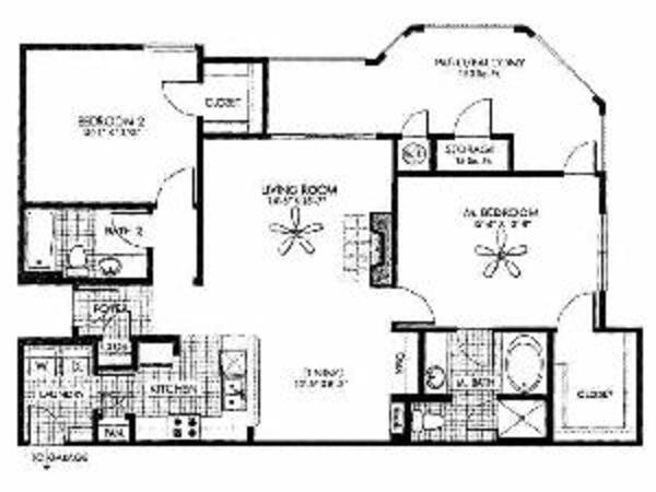 Lustrous - 2 Bedroom, 2 Bath