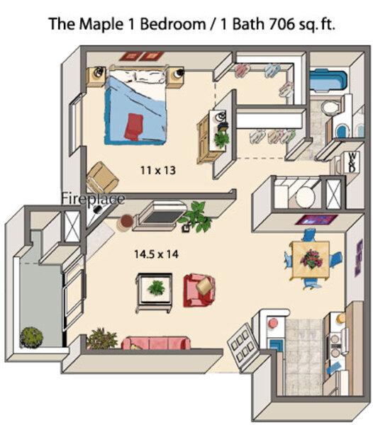 Maple Ridge Apartments: Denver, CO Apartments For Rent
