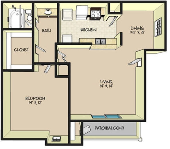 Elm Grove Apartments: Kingwood, TX Apartments For Rent