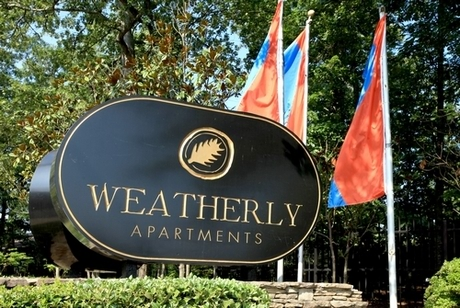 Image of apartment in Stone Mountain, GA located at 1700 Weatherly Drive