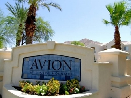Avion at Sunrise Mountain
