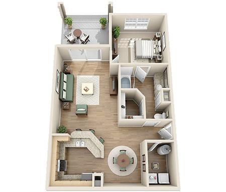 1 3 Bedroom Apartments Charlotte Nc Floor Plans At Plantation Park