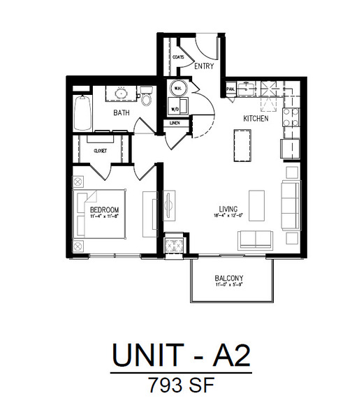 504 1 Bedroom 1 Bath