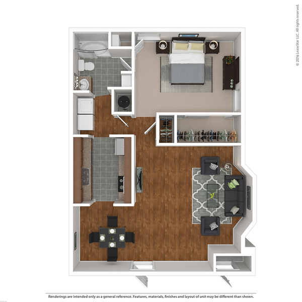 One Bedroom Phase I