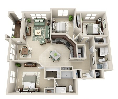 One, Two and Three Bedroom Apartment Homes in Raleigh Raleigh Homes Floor Plans on regent homes floor plans, warehouse homes floor plans, quadrant homes floor plans, wausau homes floor plans, shelby homes floor plans, huff homes floor plans,