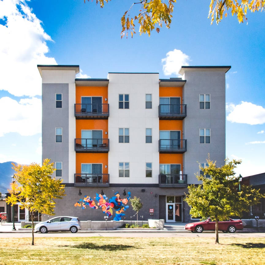 Blue Dot Place Downtown Colorado Springs Apartments