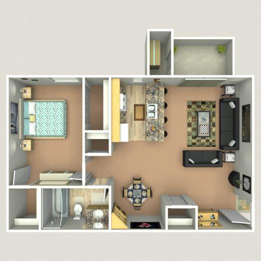Forest Ridge On Terrell Mill Marietta Ga Apartments For Rent