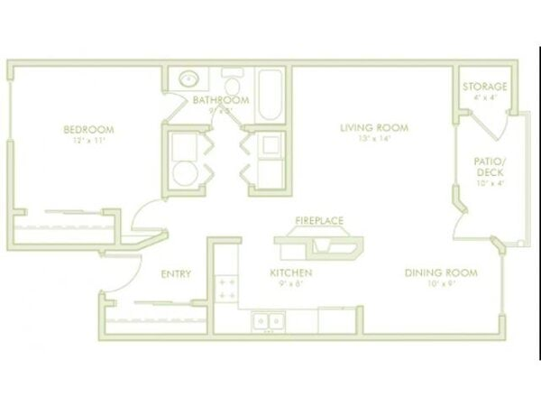 1 Bedroom (Phase 2)