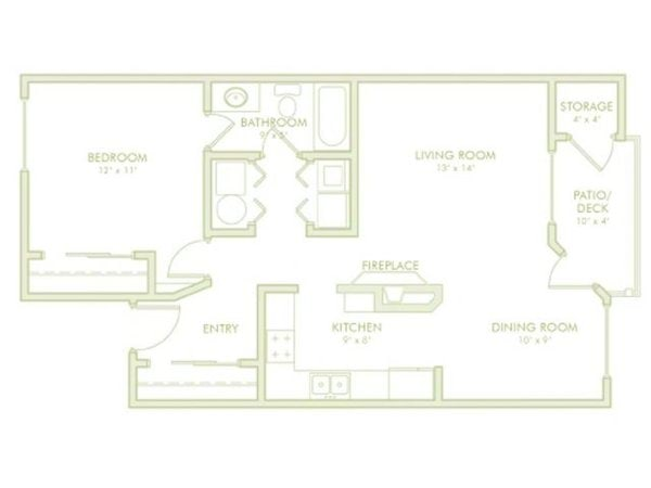 1 Bedroom (Phase 1)