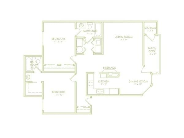 2 Bedroom Side By Side (Phase 2)