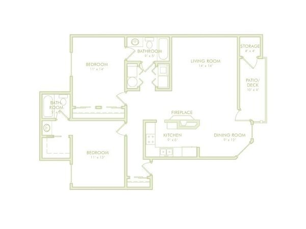 2 Bedroom Side by Side (Phase 1)
