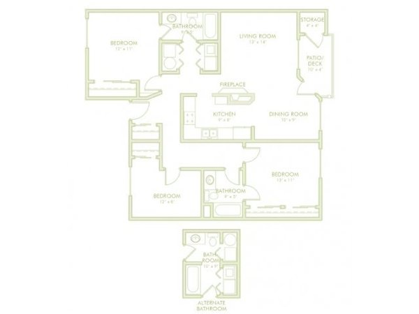 3 Bedroom (Phase 2)