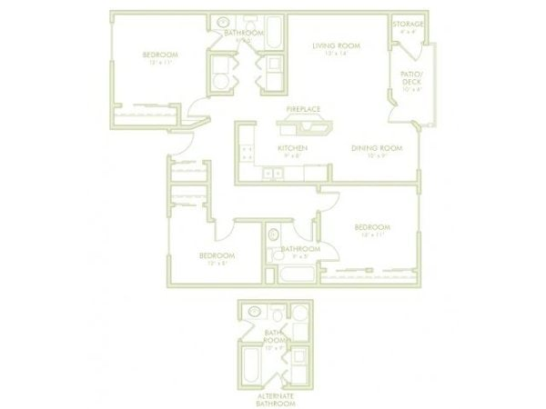 3 Bedroom (Phase 1)