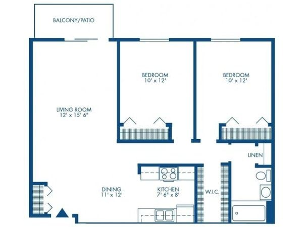 Two Bedroom - Large