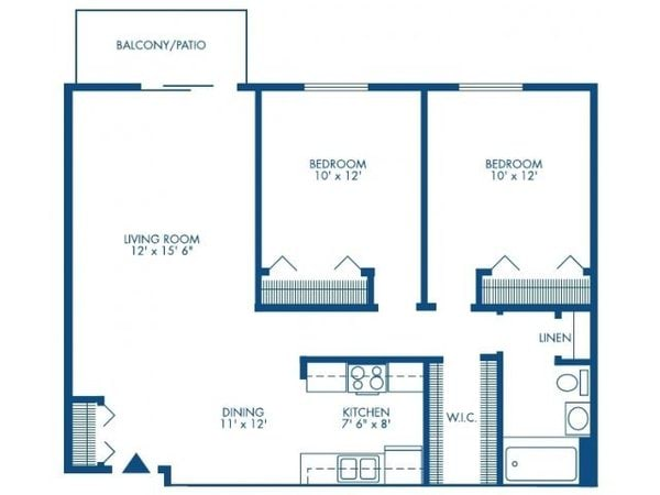 Two Bedroom - Medium