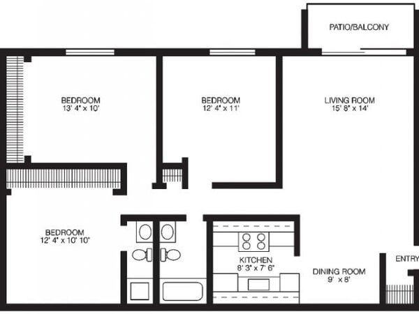 Three Bedroom - Standard
