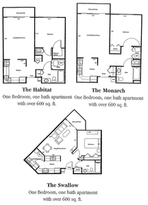 Haslett, MI Marsh Pointe Floor Plans | Apartments in Haslett, MI ...