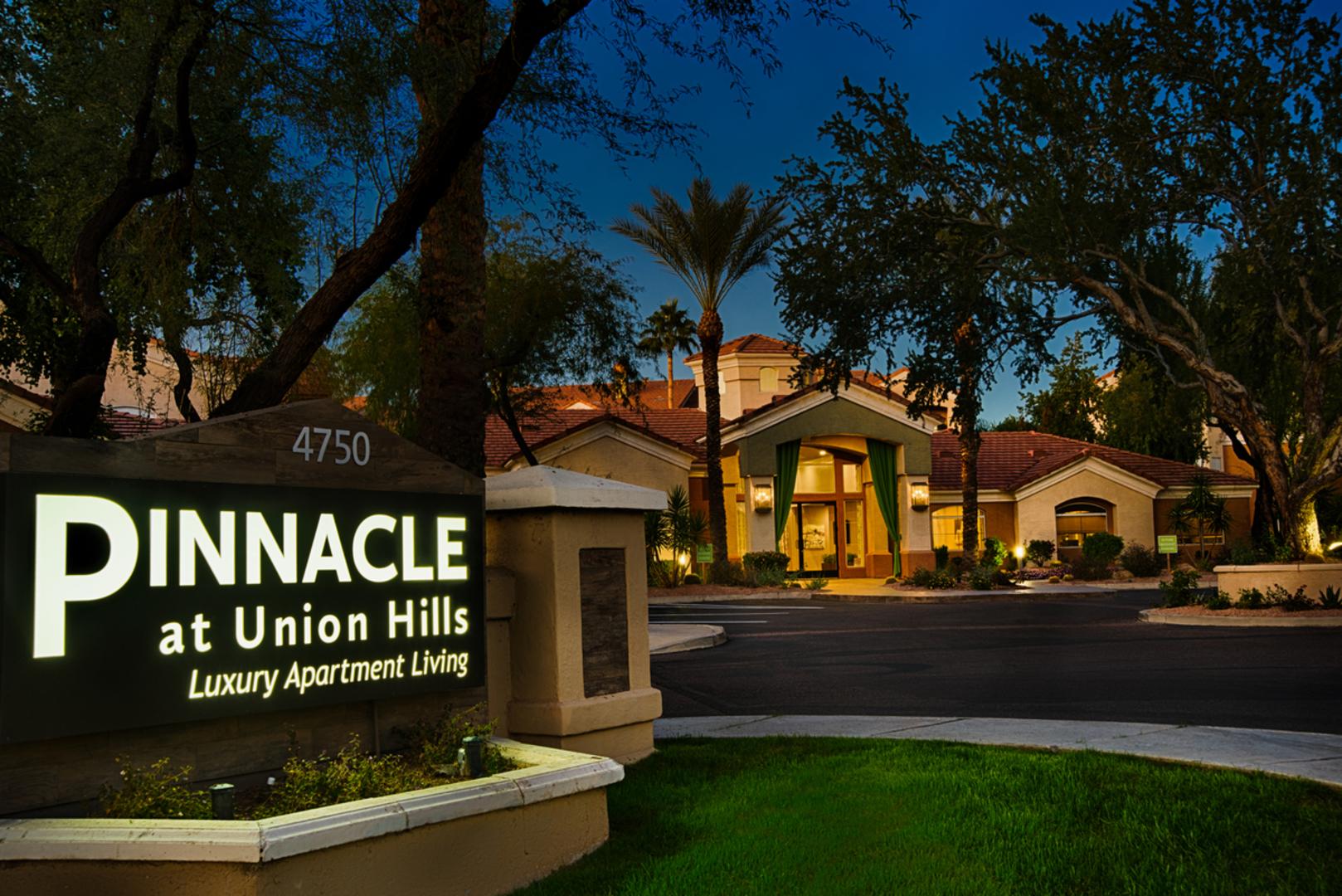 pinnacle at union hills luxury apartments phoenix