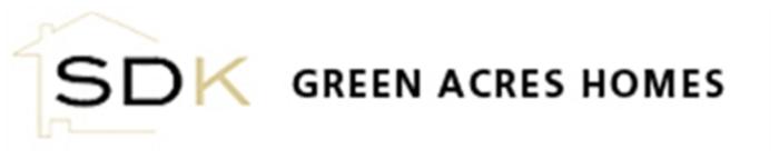 SDK Green Acres Homes Logo