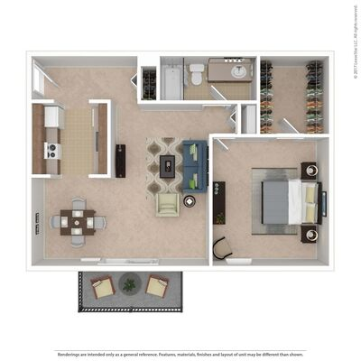 State College PA Toftrees Apartments Floor Plans