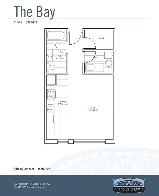Studio Apartments, 1 & 2 Bedroom Floor Plans