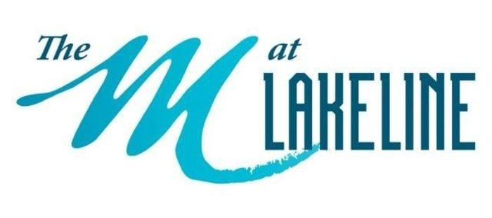 The M At Lakeline Logo