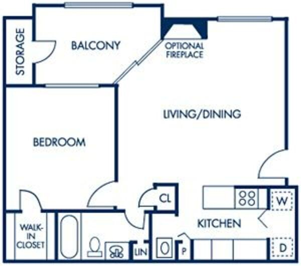 1 Bedroom: 730sqft - A1 Deluxe & A1p Premium
