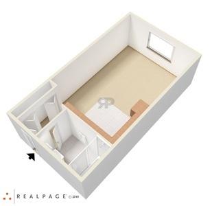 Studio U0026 One Bedroom Floor Plans