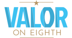 Valor on Eighth Logo
