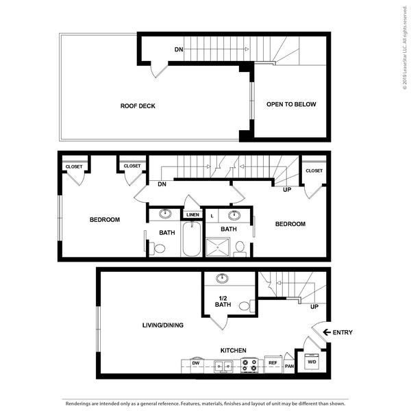 2x2.5 Townhome